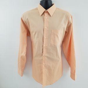 Pronto Uomo Dress shirt salmon p65 silk